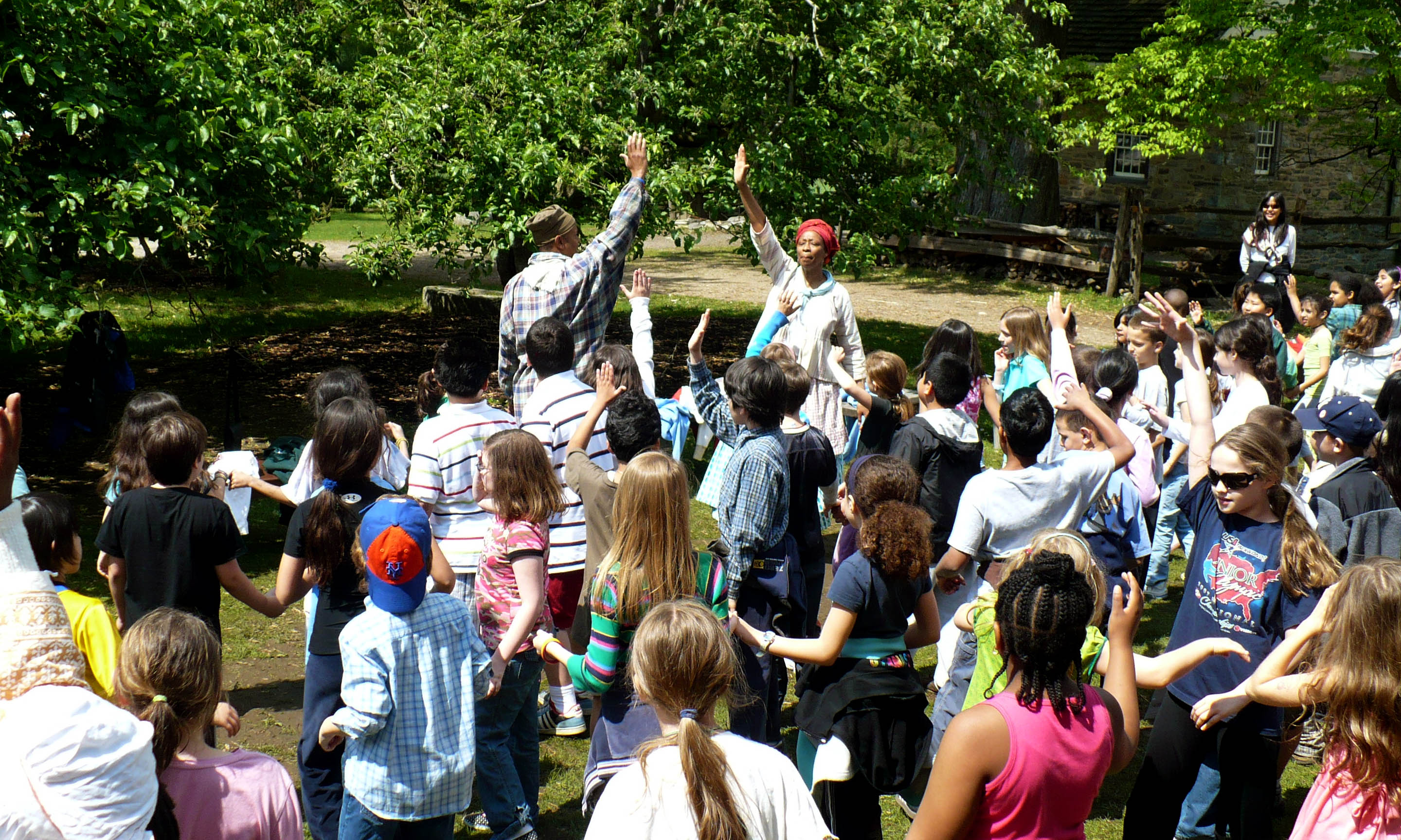 Music and dance feature in special student programs at Philipsburg Manor